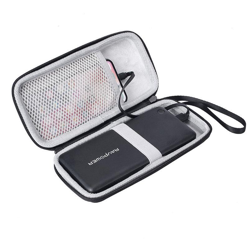 Túi đựng tai nghe bảo vệ có khóa kéo an toàn cho Anker PowerCore 26800