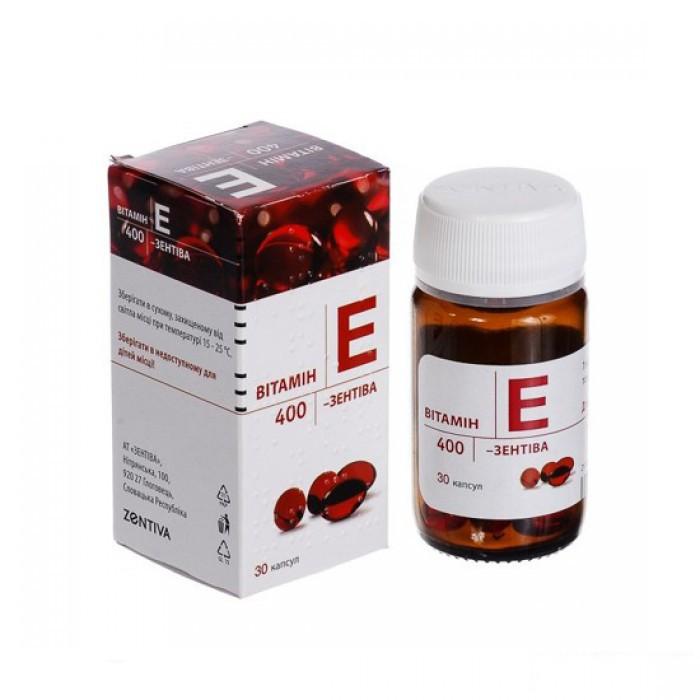 Viên uống Vitamin E Zentiva đẹp da chống lão hóa 400mg