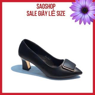 [Mã FASHIONRNK giảm 10K đơn 50K] [XẢ KHO GIÀY CÔNG SỞ CAO CẤP] giày cao gót 5p, 7p chất da mềm thumbnail