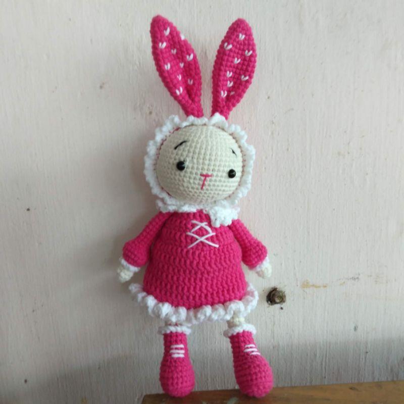 Búp bê, heo,gấu bằng len handmade an toàn cho các bé