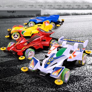 【HKM1】4 Wheel Drive Racing Car DIY Assembly Vehicle Model Electronic Children Kids Toy