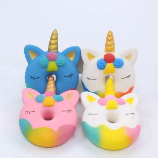 Slow Rebound Single-angle Donut Toy Explosive PU Simulation Donut Decompression Toy