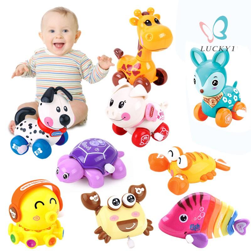 Cute Cartoon Animal Wind Up Toys Clockwork Classic Toy Newborn Baby Toy