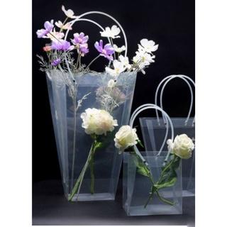Túi đựng hoa trong suốt hình thang