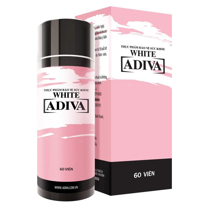 Dưỡng chất uống làm đẹp White Adiva Viên 60 viên/ hộp
