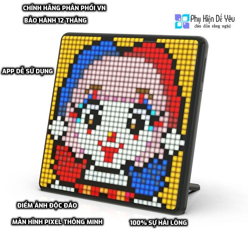 [Mã 159ELSALE hoàn 7% đơn 300K] Màn hình Pixel Art LED Divoom Pixoo Max [CHÍNH HÃNG PHÂN PHỐI VN, BẢO HÀNH 12 THÁNG]