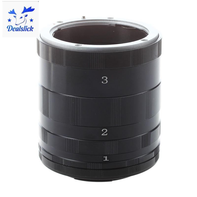 Bộ phụ kiện ống kính mở rộng cho Nikon Ai AF D7000 D5100 D300S D90 D40