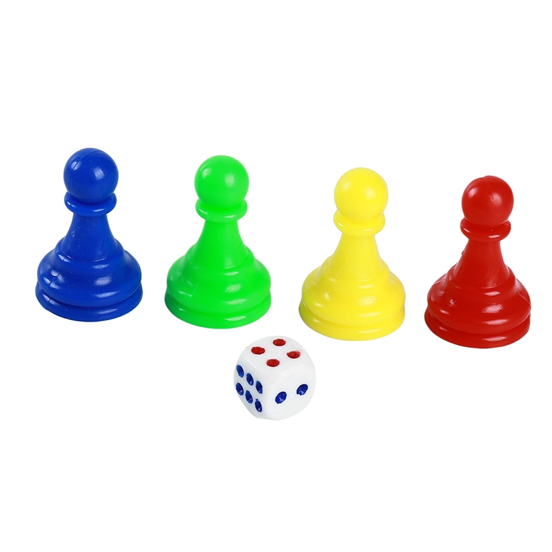 Flying Chess Snake Chess Checkers Chess Pieces Set ChessBoard Chessmen for Board Games