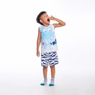 Bộ quần áo bé trai - Octopus & Shark M.D.K