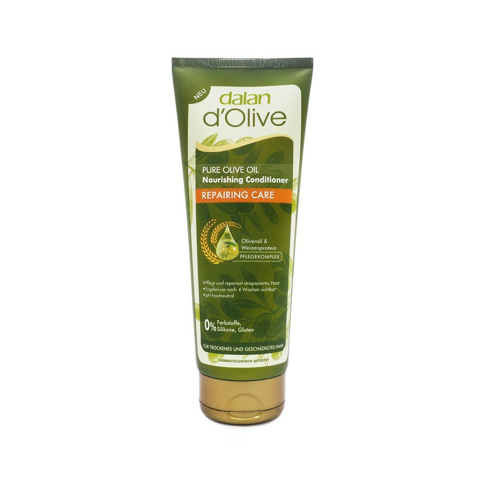 Dầu xả Oliu cho tóc khô & hư tổn Dalan D'Olive Conditioner Nutrition  Repairing Care 200ml | Shopee Việt Nam