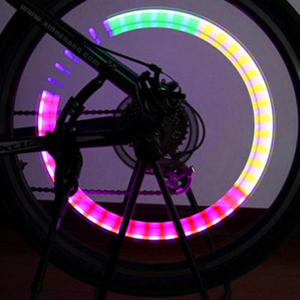 Đèn led gắn van xe đạp (1 cái)
