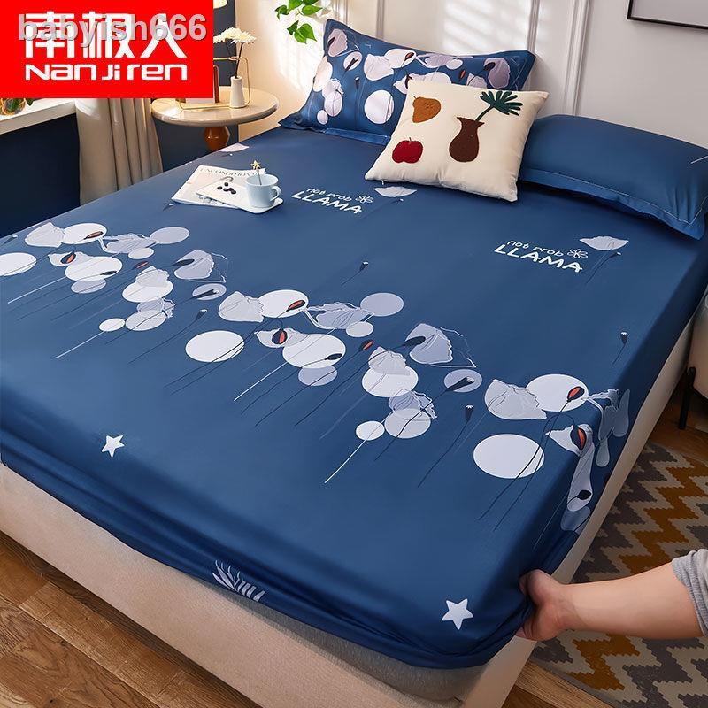 ✼☄Vỏ gối chăn và ga giường Cotton giặt sạch tiện lợi