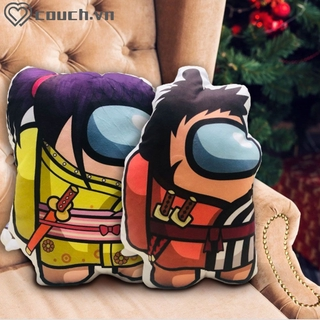 ▶COD Among us 18cm plush toy doll cartoon animation 3D pillow game peripheral toys 【couch】