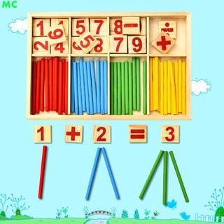 bộ số và chữ cái bằng gỗ cho bé học toán