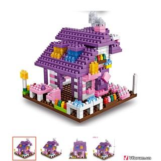 Đồ chơi mô hình lắp ghép ngôi nhà