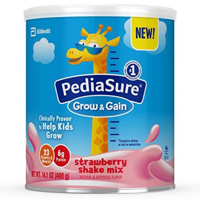 (Hàng air 03/2022) Sữa dinh dưỡng PediaSure Grow & Gain