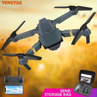 Máy bay gập cánh flycam drone E58