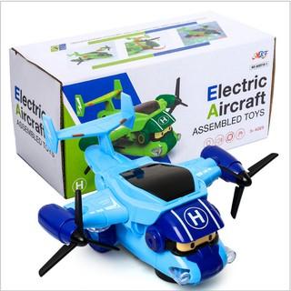 Xe ô tô Poli chạy pin AA phát nhạc và đèn đồ chơi trẻ em