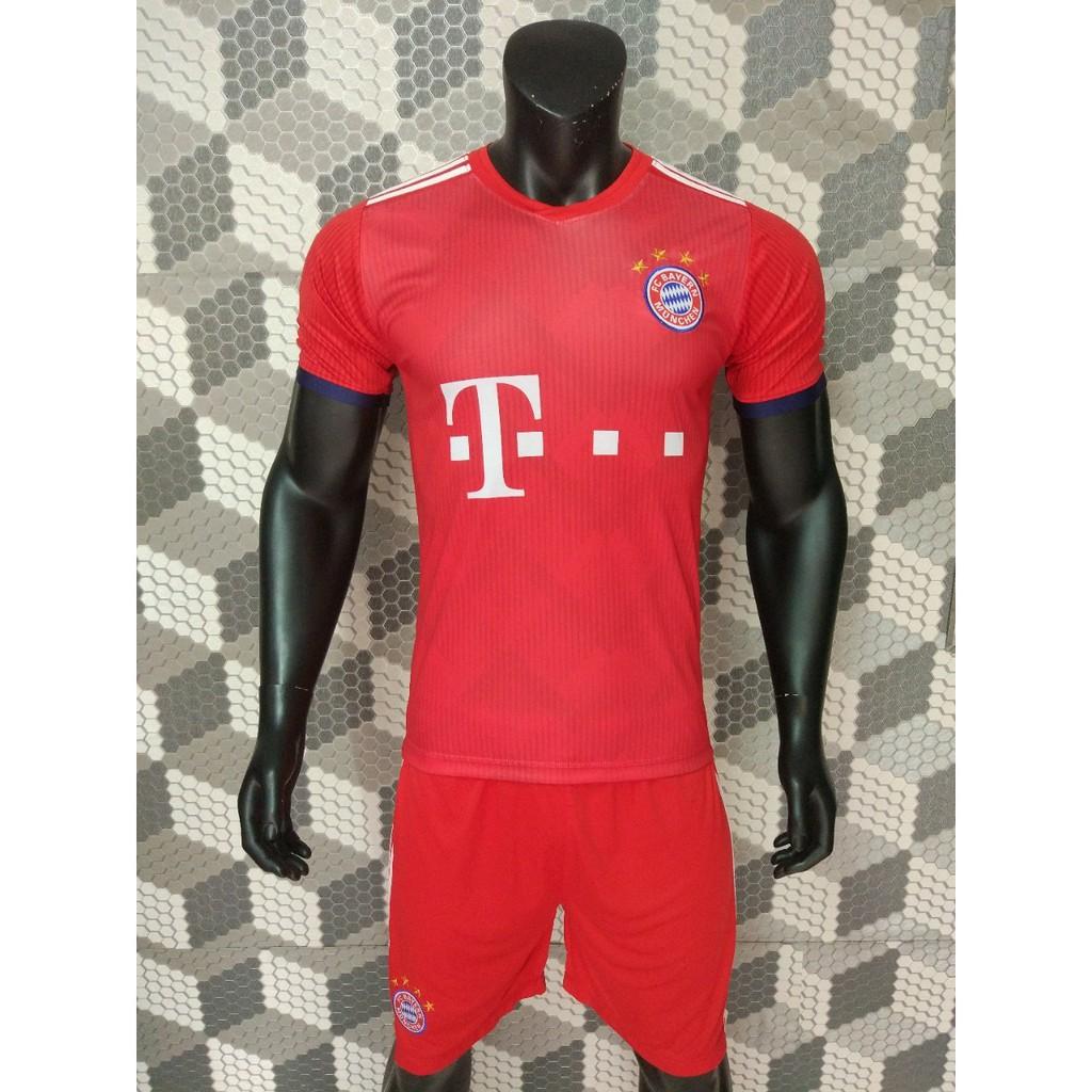 Quần áo đá bóng Bayer sân nhà so hot 2018