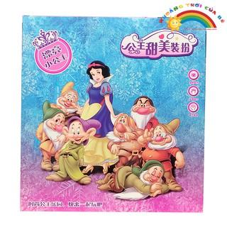 Công chúa bạch tuyết và 7 chú lùn | Mama Kid