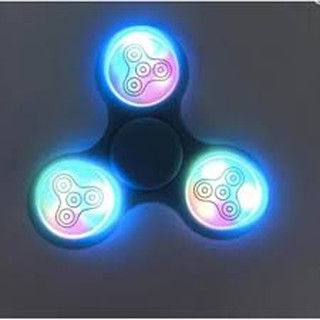 Con quay giảm stress hand spinner có đèn phát sáng