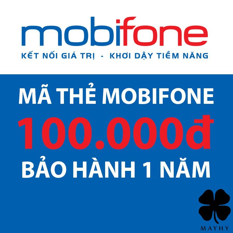 Mã Thẻ Mobifone 100.000