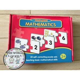 Thẻ học thông minh – Thẻ học toán – Mathematic – Hộp đỏ