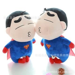 Gấu bông Cushin Superman & Batman