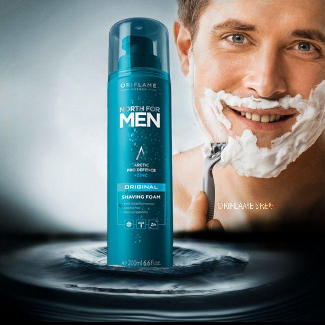 Bọt cạo râu North For Men Original Shaving Foam.200ml