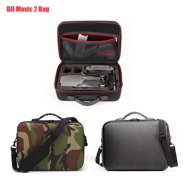 Shoulder Bag for DJI Mavic 2 Pro Carrying Case for Mavic 2 Zoom Storage Bag PU Handbag for DJI Drone Body 3 Batteries