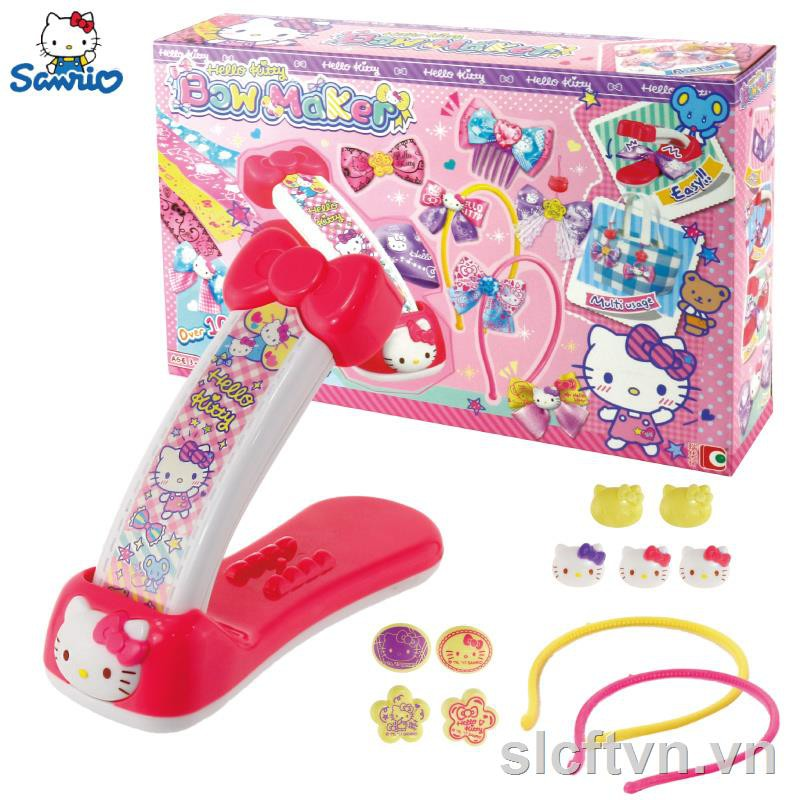 ▲HELLOKITTY Kai Cat makeup crown set kt camera phone child girl play house toy