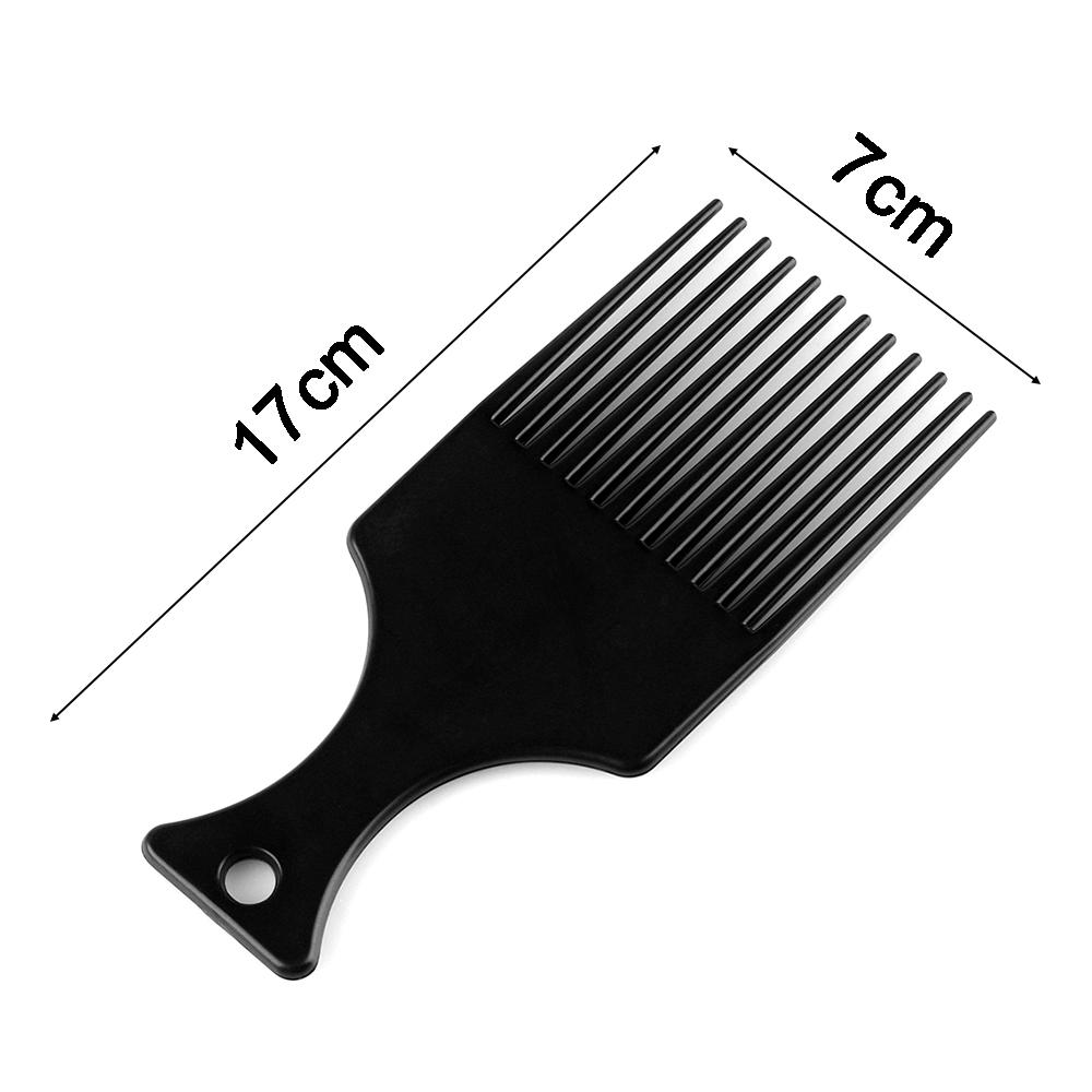 (Hàng Mới Về) Lược Chải Tạo Kiểu Tóc Bằng Nhựa Chống Nhiệt Cho Nam & Nữ