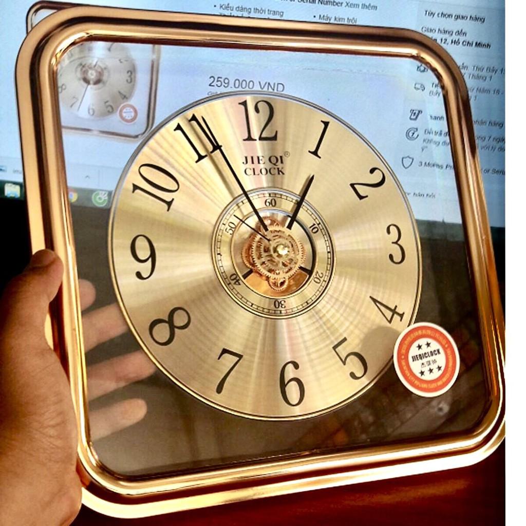 Đồng hồ treo tường kim trôi JQ-108 30cm