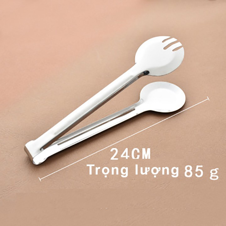 Dụng cụ Kẹp gắp đồ ăn, Thực phầm bằng Inox - Loại đầu tròn   Shopee Việt Nam