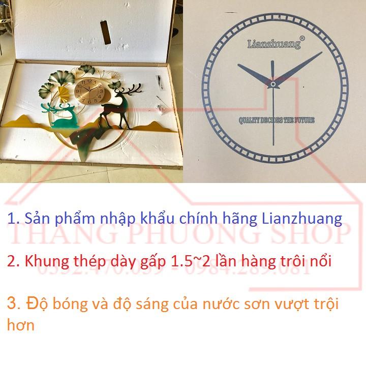 Đồng Hồ Treo Tường Thảo Nguyên Xanh TP-043 (Tặng Máy Đồng Hồ Thay Thế)