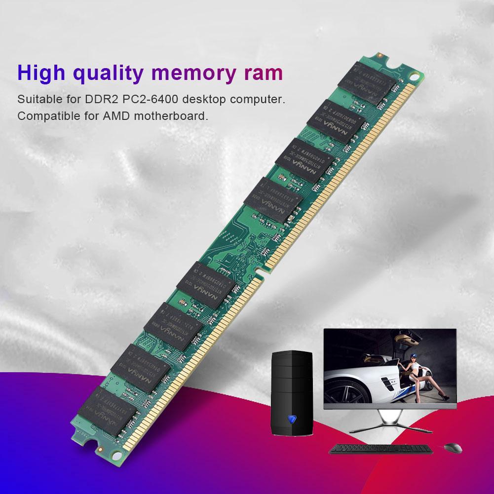Bộ Nhớ Ram Ddr2 2G 800Mhz Pc2-6400 Cho Amd Máy Tính