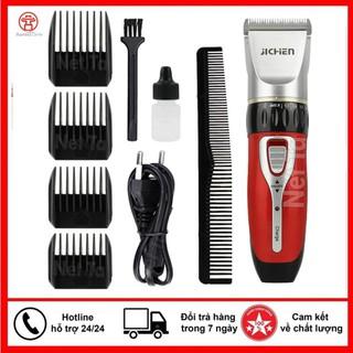 [Chính Hãng] Tông đơ cắt tóc nhập khẩu Jichen Model 0817 tặng kèm lược