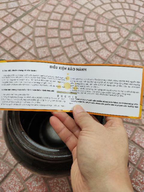 Ấm sắc thuốc bắc cắm điện Bennix Thái Lan dung tích 3,2 lít hàng chính hãng, bảo hành 12 tháng (màu ngầu nhiên)