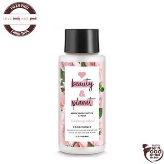 Dầu Xả Giữ Màu Tóc Nhuộm Love Beauty And Planet Blooming Colour Conditioner 400ml thumbnail