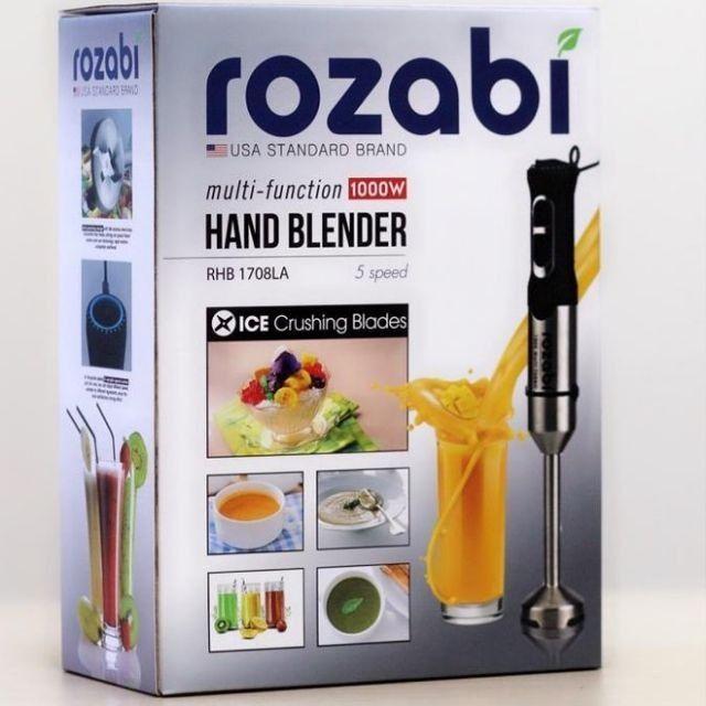 Máy xay thức ăn cầm tay Rozabi 1000W -Bảo hành chính hãng 12 tháng - 2540386 , 1273742783 , 322_1273742783 , 799000 , May-xay-thuc-an-cam-tay-Rozabi-1000W-Bao-hanh-chinh-hang-12-thang-322_1273742783 , shopee.vn , Máy xay thức ăn cầm tay Rozabi 1000W -Bảo hành chính hãng 12 tháng