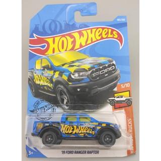 Xe mô hình Hot Wheels '19 Ford Ranger Raptor FYF09