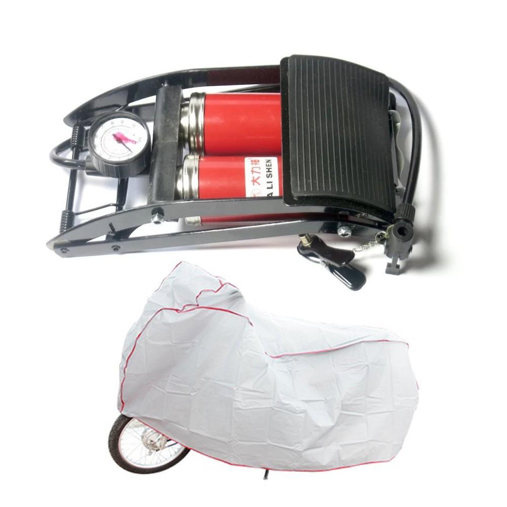 Bơm hơi đạp chân 2 piston cho ÔTÔ, Xe Máy đa năng và tiện dụng - 10084676 , 1042289040 , 322_1042289040 , 150000 , Bom-hoi-dap-chan-2-piston-cho-OTO-Xe-May-da-nang-va-tien-dung-322_1042289040 , shopee.vn , Bơm hơi đạp chân 2 piston cho ÔTÔ, Xe Máy đa năng và tiện dụng