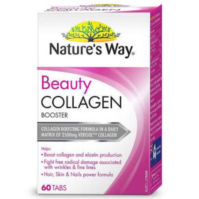 Viên uống đẹp da Beauty Collagen Booster Nature's Way