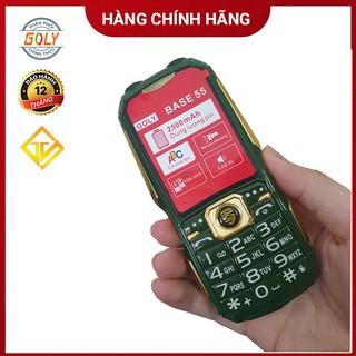 [Mã 159ELSALE hoàn 7% đơn 300K] Điện thoại Goly Base 55 kèm ốp lưng - 2 sim 2 sóng - Loa 3D - Hàng chính hãng thumbnail