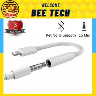 Jack Chuyển Đổi, Cổng Chuyển Đổi Chân Sạc Thành Chân Tai Nghe 3.5mm Cho iPhone Có Mic – Beetech