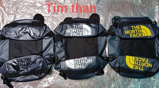 [ RẺ VÔ ĐỊCH,Bảo Hành 12m][Size L] Túi trống chống nước unisex TNF Base Camp Duffe -95L