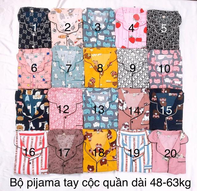 Nhập WAPCK111 giảm 25k đơn từ 200k - bộ Pijama tay ngắn quần dài