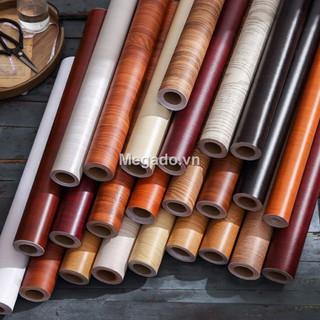 Yêu Thích[RẺ VÔ ĐỊCH][A0016] - 10m*45cm Giấy dán tường giả gỗ chống nước - [GIAO NGAY TRONG NGÀY]
