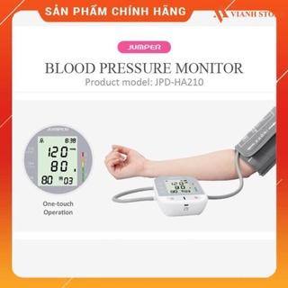 [FDA Hoa Kỳ + xuất USA] Máy đo huyết áp điện tử bắp tay Jumper JPD-HA210, Bh thumbnail