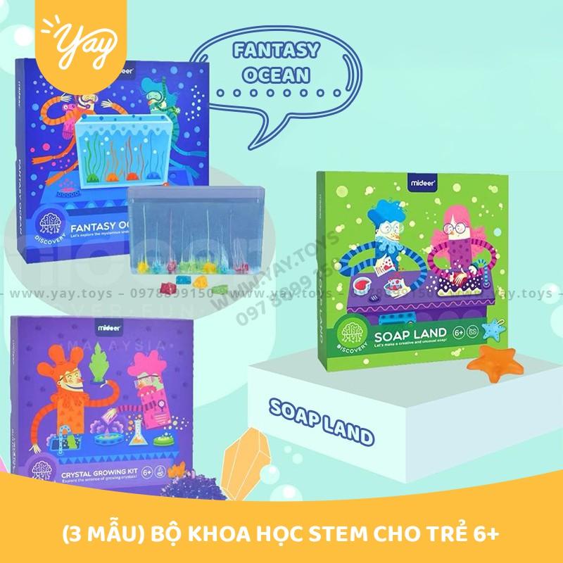 [HDSD T.VIỆT- 2 MẪU] Bộ Khoa Học STEM Cho Trẻ 6+ - MIDEER